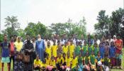 বঙ্গবন্ধু ও বঙ্গমাতা ফজিলাতুন্নেসা মুজিব গোল্ডকাপ ফুটবল টুর্ণামেন্ট ২০১৮ উদ্বোধন