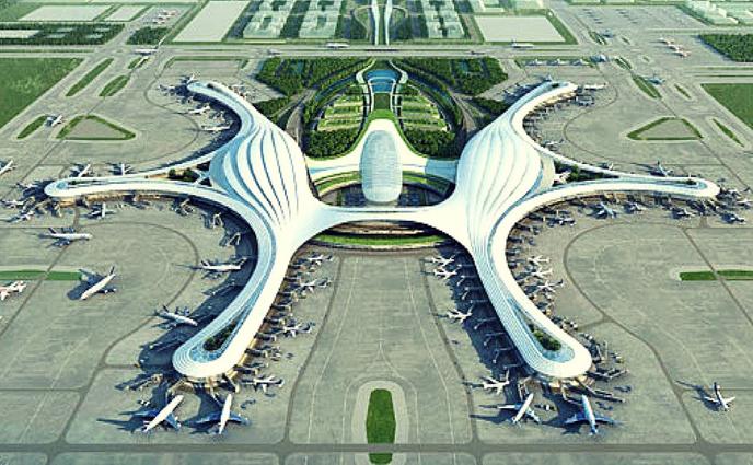 বিশ্বের সবচেয়ে বড় বিমানবন্দর বানাচ্ছে চীন
