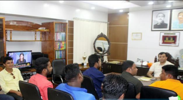 ঠাকুরগাঁওয়ে অনলাইন সাংবাদিকদের সাথে পুলিশ সুপারের মত বিনিময়