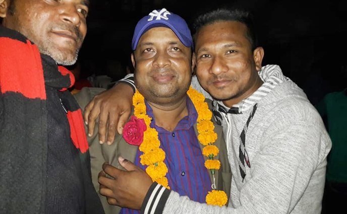 ঠাকুরগাঁও সদরের নব নির্বাচিত ভাইস চেয়ারম্যান আব্দুর রশিদ
