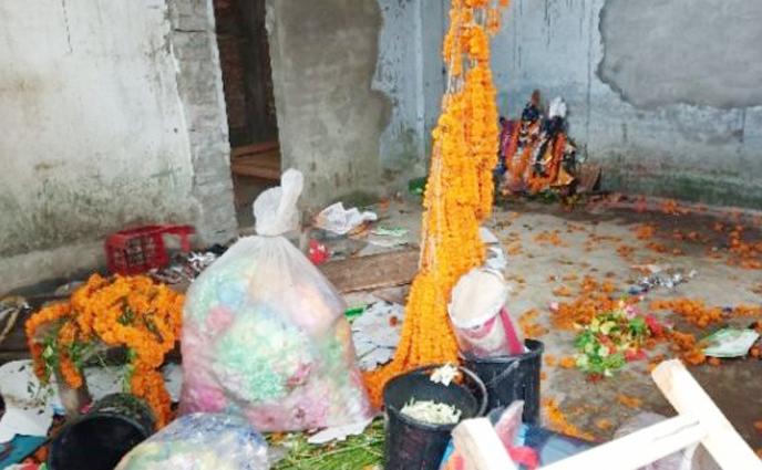 ঠাকুরগাঁওয়ে রাধাকৃষ্ণ মূর্তি ভাংচুর