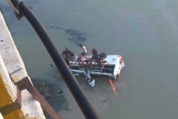 রাজস্থানে নদীতে যাত্রীবাহী বাস : নিহত ৩২