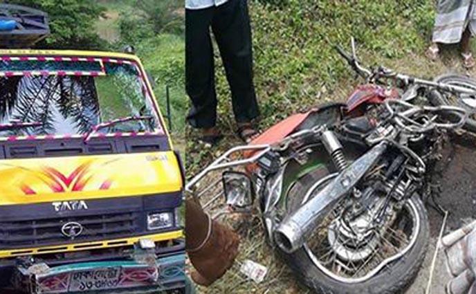 রাজশাহীতে ট্রাক চাপায় মোটরসাইকেল আরোহী নিহত