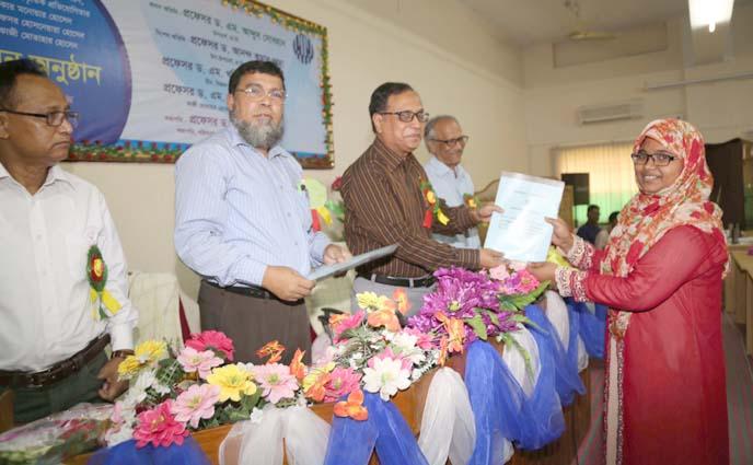 রাবির পরিসংখ্যান বিভাগে পুরস্কার ও পদক প্রদান অনুষ্ঠিত