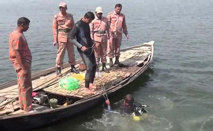 বারনই নদীতে ডুবে নিখোঁজ নারীর লাশ উদ্ধার