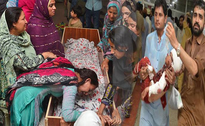 পাকিস্তানে হামলা: নিহতের সংখ্যা বেড়ে ১৫০
