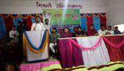 রুহিয়া ডিগ্রী কলেজে একাদশ শ্রেণীর ছাত্র-ছাত্রীদের নবীনবরণ অনুষ্ঠান