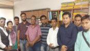 সাংবাদিকদের জন্য বীমা ব্যবস্থা চালু করা উচিত: বিএমএসএফ'র কার্যালয়ে ভারতীয় সাংবাদিকরা