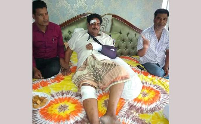 ময়মনসিংহের ফুলপুরের সাবেক এমপি শাহ শহীদ সারোয়ার গুরুতর আহত