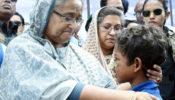 রোহিঙ্গাদের পাশে দাঁড়িয়ে দুই পুরস্কার পাচ্ছেন প্রধানমন্ত্রী