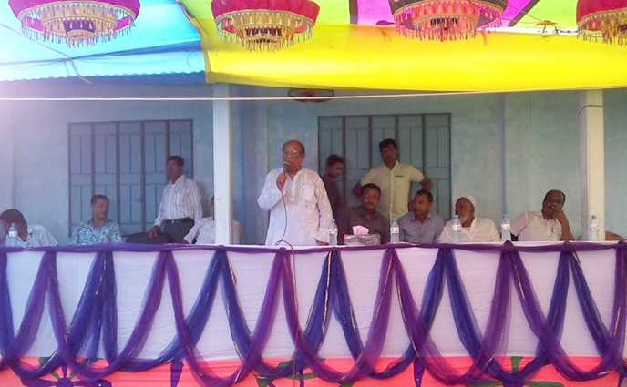 ঠাকুরগাঁও রুহিয়ায় জাতীয় সংসদ নির্বাচনী সেন্টার কমিটি গঠন