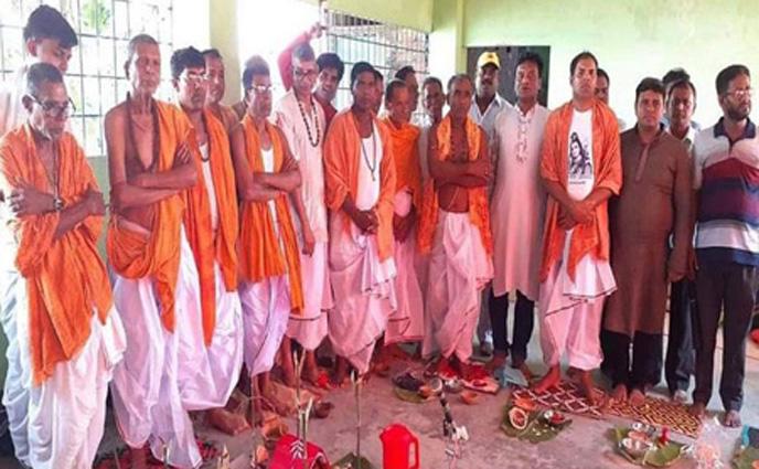 পেঁচোড় বাওড় মহাশ্মশানে কালীপুজা উৎসব অনুষ্ঠিত