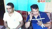 ঠাকুরগাঁও প্রেসক্লাবের সাধারন সম্পাদকসহ দুইজনকে কুপিয়ে জখম,আটক-১