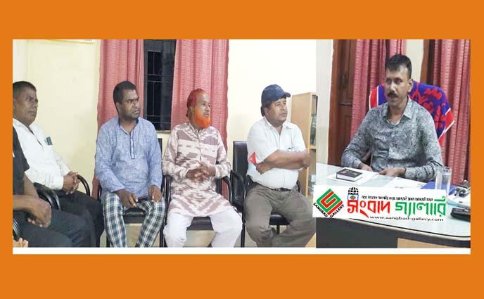 পীরগঞ্জে সাংবাদিকের সাথে নতুন ওসি'র মতবিনিময়…