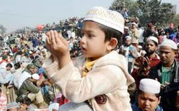 বিশ্ব মুসলিম উম্মাহর শান্তি কামনায় আখেরি মোনাজাত অনুষ্ঠিত…