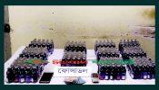 পোরশায় র্যাবের হাতে আটক দুই মাদক ব্যবসায়ী আটক…