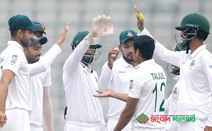 জিম্বাবুয়ের বিপক্ষে ইনিংস ও ১০৬ রানে জয়ী বাংলাদেশ…