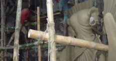 ভালো নেই সিরাজগঞ্জের প্রতিমা শিল্পীরা