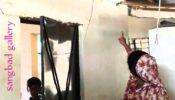 সরকারের আশ্রয়ণ প্রকল্পের বাড়িতে ফাটল, নির্মাণে অনিয়মের অভিযোগ…
